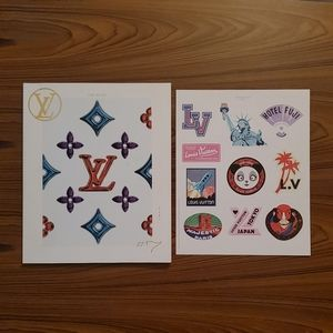 Louis Vuitton | The Book #7 artbook+sticker sheet